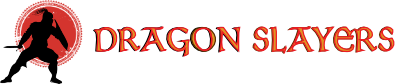 Dragon Slayers Book Logo